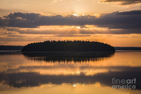Photograph - Sunset Reflections by Susan Cole Kelly