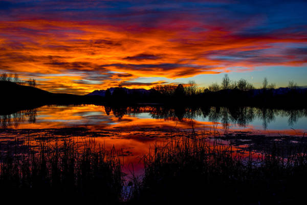 Photograph - Sunset Reflections by TL  Mair