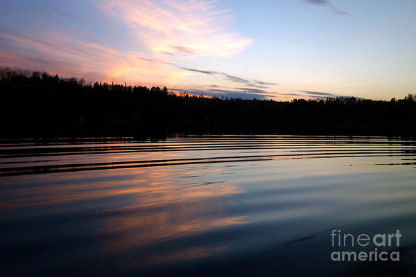 Photograph - Sunset Ripples by Jacqueline Athmann