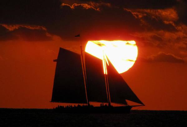 Photograph - Key West Sunset Sail 5 by Bob Slitzan