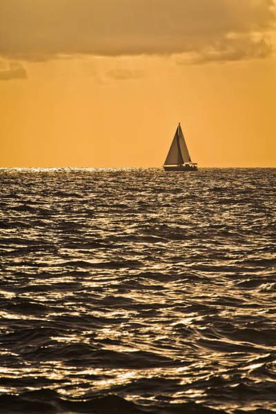Photograph - Sunset Sail by Patrick M Lynch