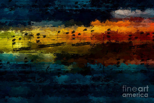 Digital Art - Sunset Serenade by Lon Chaffin