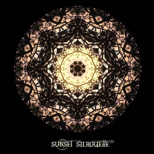 Digital Art - Sunset Silhouette No 3 by Charmaine Zoe