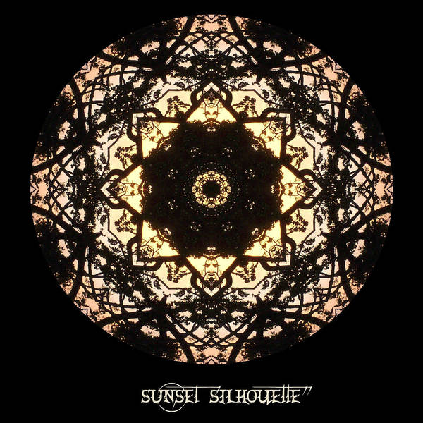 Digital Art - Sunset Silhouette No 6 by Charmaine Zoe