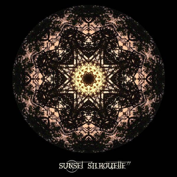 Digital Art - Sunset Silhouette No 7 by Charmaine Zoe
