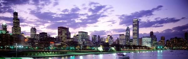 Wall Art - Photograph - Sunset, Sky, Skyline, Twilight by Panoramic Images
