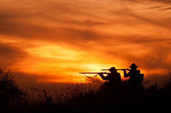 Photograph - Sunset Soldiers by Don Johnson