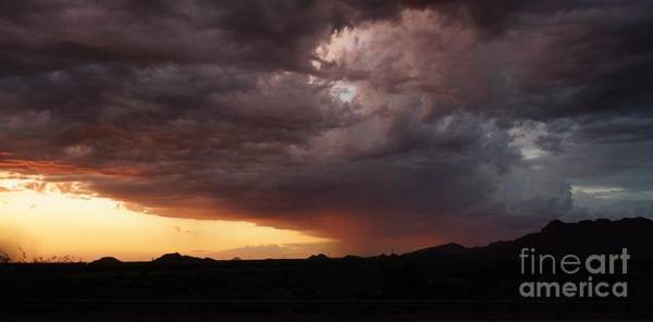 Photograph - Sunset Storm by Kerri Mortenson