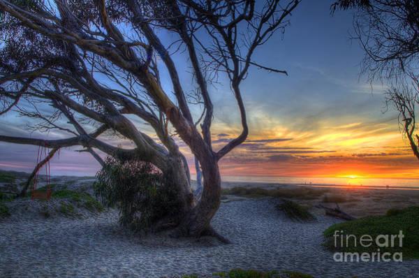 Photograph - Sunset Swing by Mathias