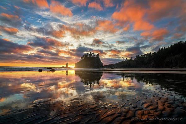 Wall Art - Photograph - Sunset Symphony by John Fan