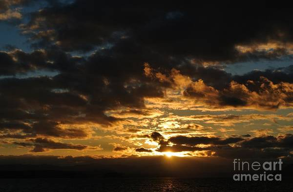 Photograph - Sunset -thieves Bay by Sharron Cuthbertson