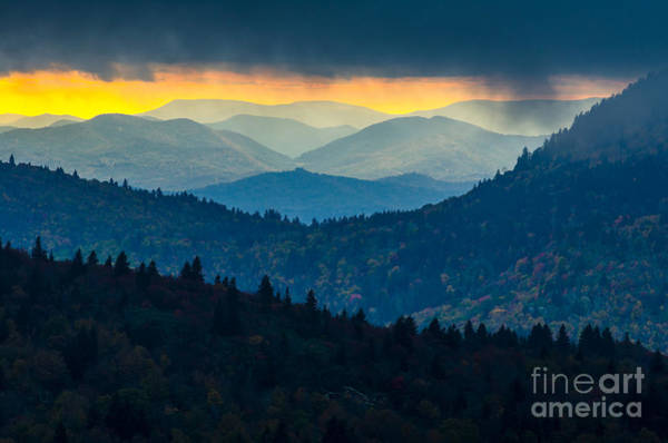 Wall Art - Photograph - Sunset Through The Storm by Anthony Heflin