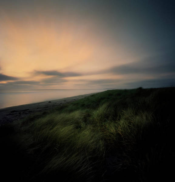 Oregon Dunes Photograph - Sunset To End Day At Beach by Zeb Andrews