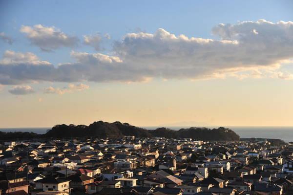 Kamakura Wall Art - Photograph - Sunset Town Near The Beach by Taro Hama @ E-kamakura