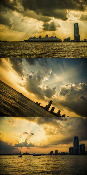 Sunset Trilogy Art Print