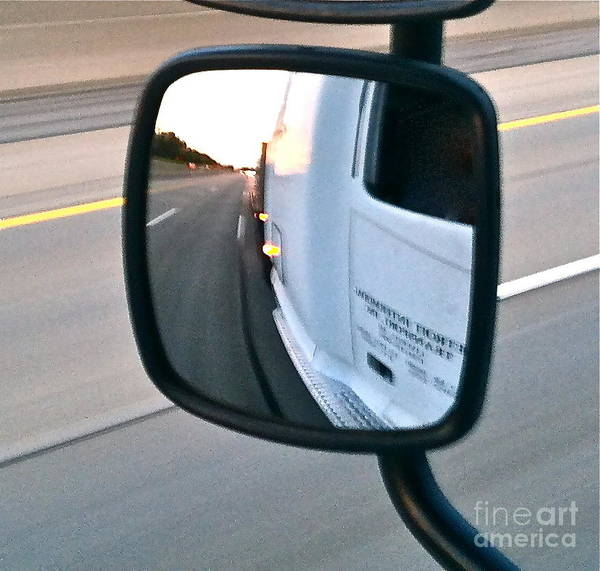 Freightliner Wall Art - Photograph - Sunset Trucking by Rob and Morgan Tuisku
