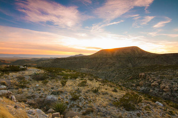 Wall Art - Photograph - Sunset View From El Capitan At Guadalupe Mountains National Park by Ellie Teramoto