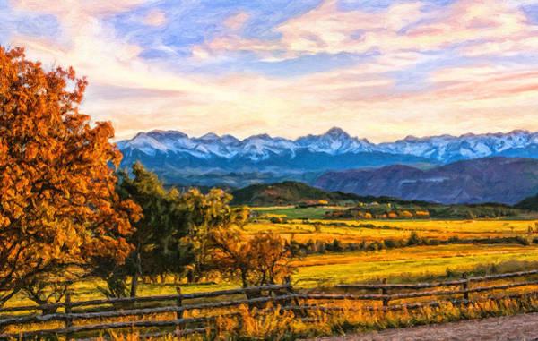 Digital Art - Sunset View by Rick Wicker