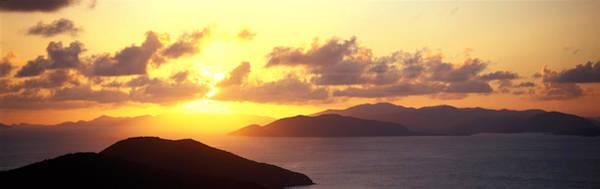 Leisurely Photograph - Sunset Virgin Gorda British Virgin by Panoramic Images