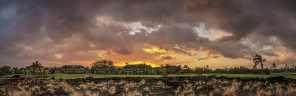 Big Island Photograph - Sunset, Waikoloa Petroglyph Preserve by Edwina Podemski
