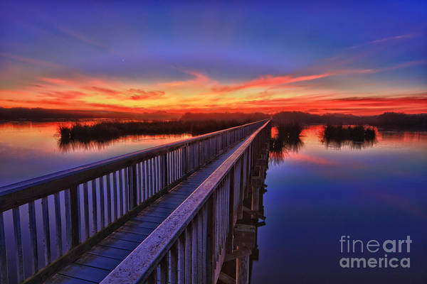 Photograph - Sunset Walkway by Beth Sargent