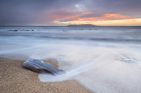 Wall Art - Photograph - Sunset Wash At Osmington Mills by Chris Frost