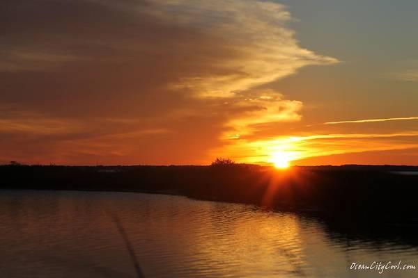 Photograph - Sunset Wetlands by Robert Banach