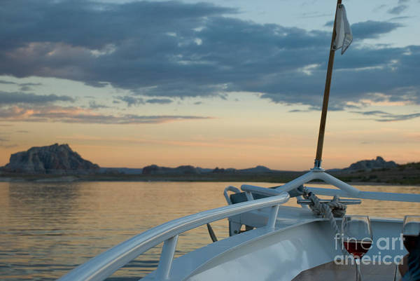 Photograph - Sunset Wine Cruise by Kate Sumners