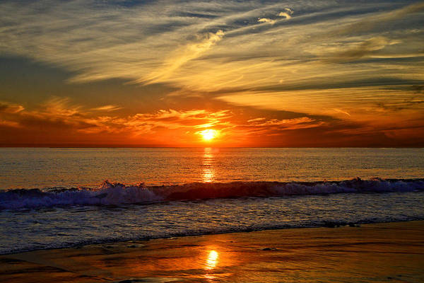 Sunset's Glow  Art Print