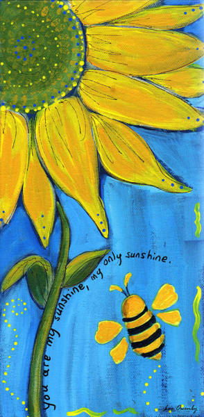 Painting - Sunshine by Lee Owenby