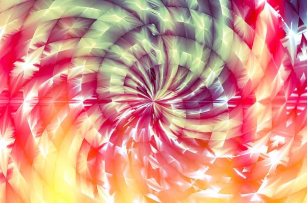 Digital Art - Sunshine Lollipop by Carolyn Marshall