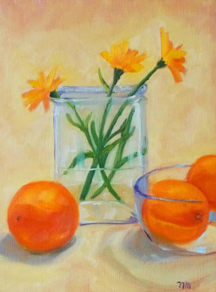 Wall Art - Painting - Sunshine by Nancy Merkle