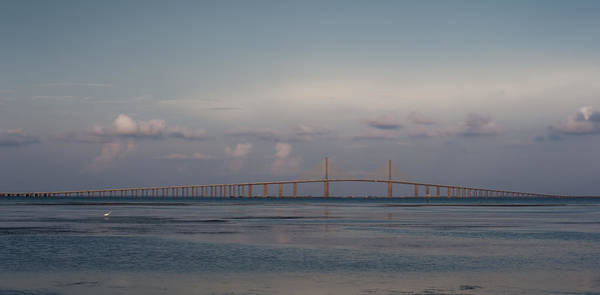 Photograph - Sunshine Skyway Bridge by Steven Sparks