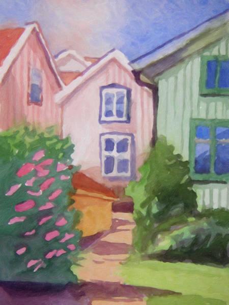 Painting - Sunshine Village by Lutz Baar