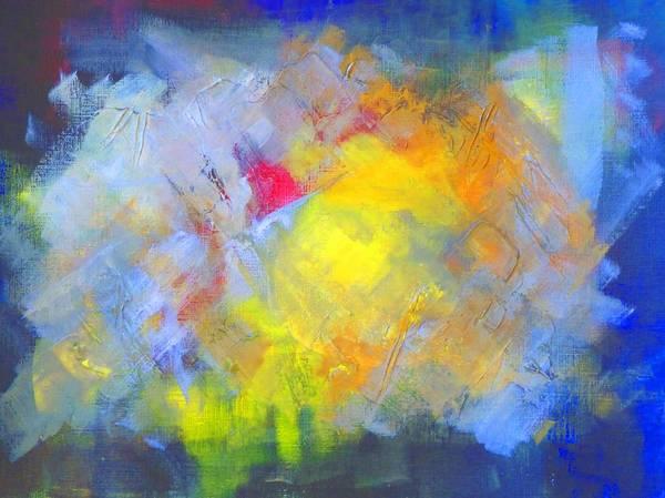 Wall Art - Painting - Sunsplash by Nancy Merkle