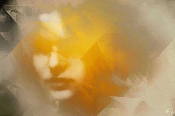 Diagonal Digital Art - Sunstruck by Gun Legler