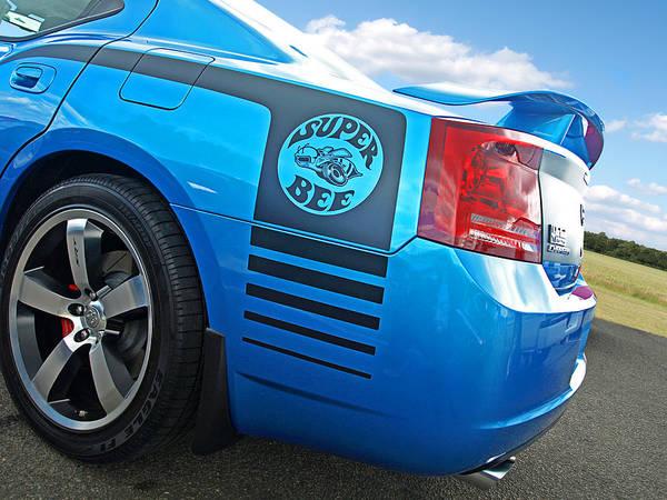 Photograph - Super Bee Dodge Charger Srt8 by Gill Billington
