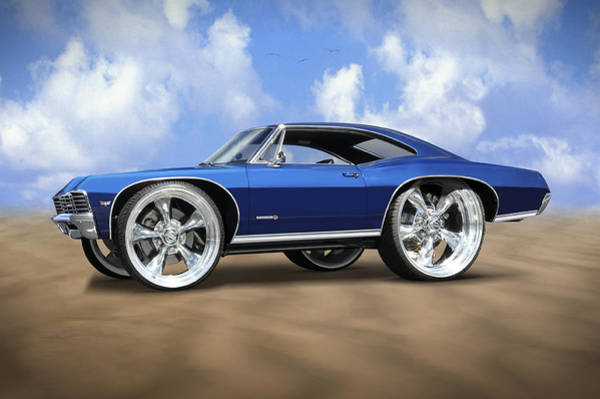 Impala Photograph - Super Big Wheels by Mike McGlothlen