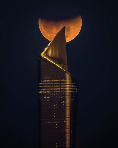 Super Photograph - Super Blue Blood Moon by Faisal Alnomas