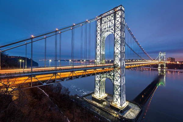 Photograph - Super Bowl Gwb by Mihai Andritoiu