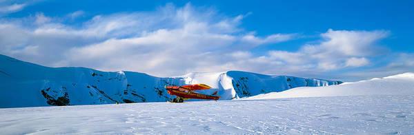 Escarpment Photograph - Super Cub Piper Bush Airplane by Panoramic Images