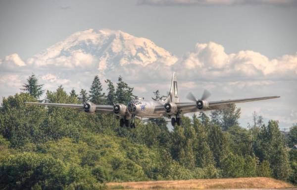 B29 Photograph - Super Fortress by Jeff Cook