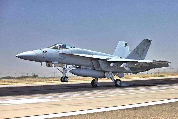 Photograph - Super Hornet Arriving by Gordon Elwell