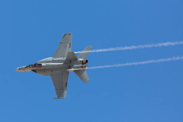 Rancho Mirage Photograph - Super Hornet Trails by John Daly