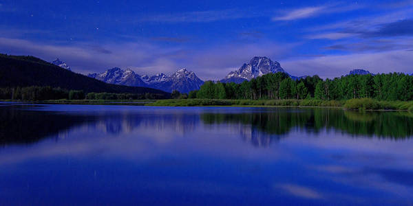 Teton Photograph - Super Moon by Chad Dutson
