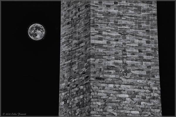 Photograph - Super Moon by Erika Fawcett