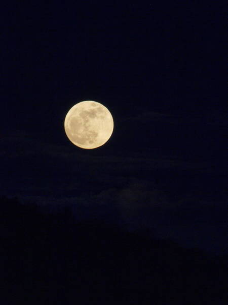 Perigee Moon Photograph - Super Moon One by Joshua House