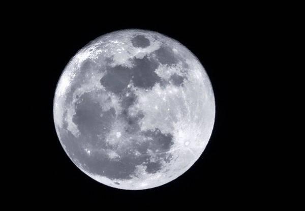 Super Moon Over Arizona  Art Print