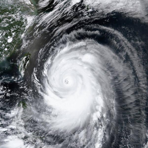 Suomi Photograph - Super Typhoon Neoguri by Nasa