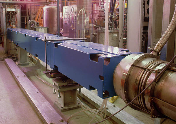 Particle Accelerator Wall Art - Photograph - Superconducting Magnet by David Parker/science Photo Library